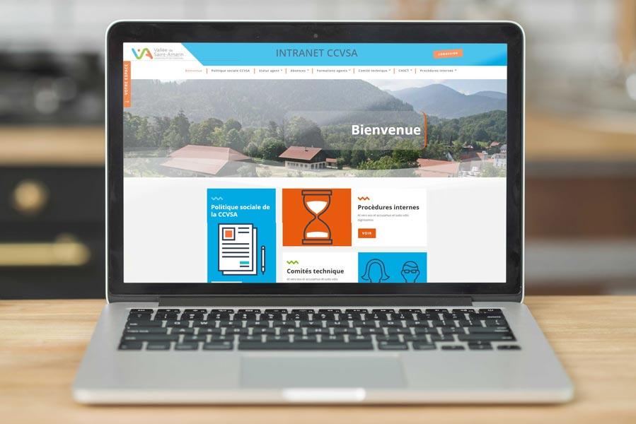 Site intranet ccvsa